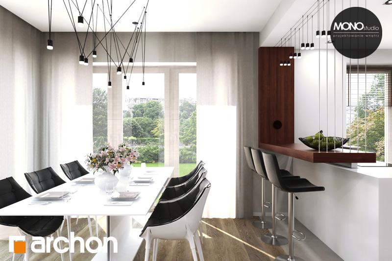 Проект будинку ARCHON+ Будинок в аурорах 4 денна зона (візуалізація 2 від 3)