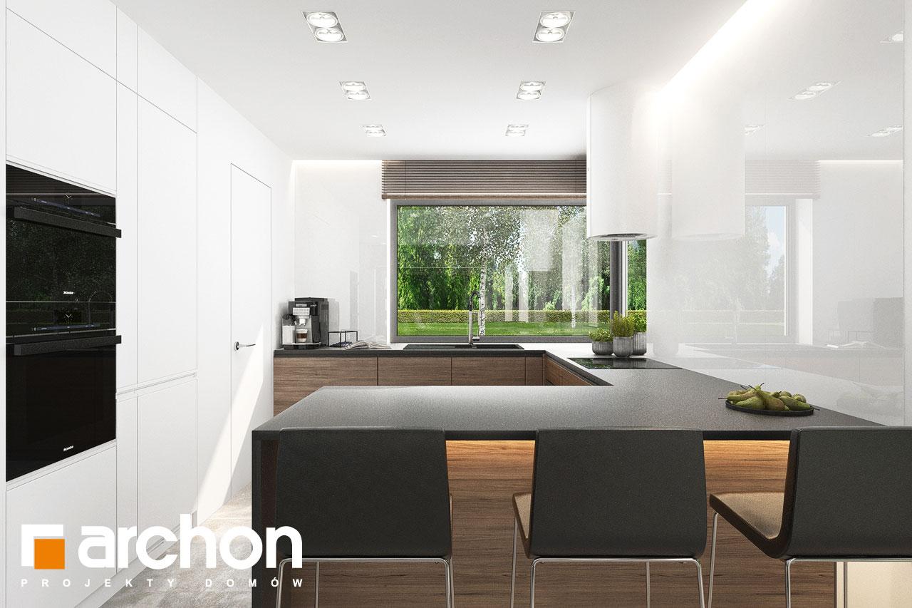 Проект будинку ARCHON+ Будинок в ренклодах 15 (Г2) візуалізація кухні 1 від 1