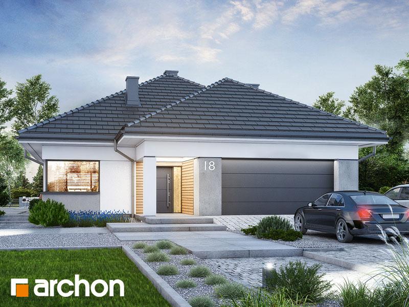 Проект будинку ARCHON+ Будинок в ренклодах 15 (Г2) Вид 1