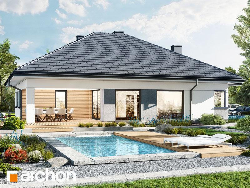 Проект будинку ARCHON+ Будинок в ренклодах 15 (Г2) Вид 2