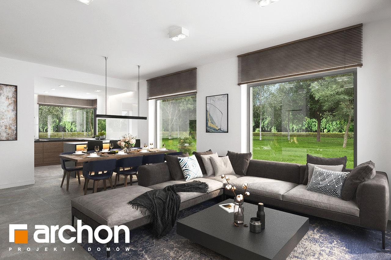 Проект будинку ARCHON+ Будинок в ренклодах 15 (Г2) денна зона (візуалізація 1 від 5)