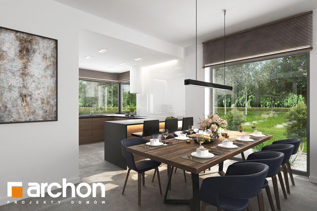 Проект будинку ARCHON+ Будинок в ренклодах 15 (Г2) денна зона (візуалізація 1 від 6)