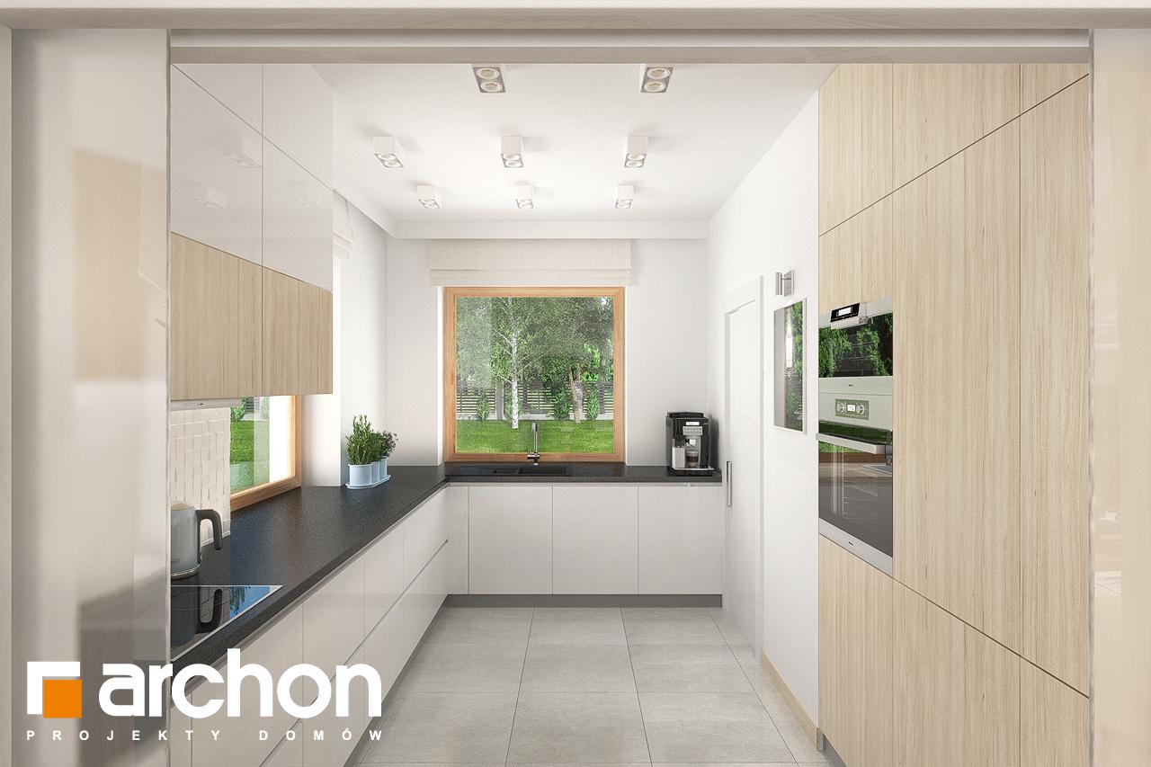 Проект будинку ARCHON+ Будинок в крокосміях (Г2) візуалізація кухні 1 від 1
