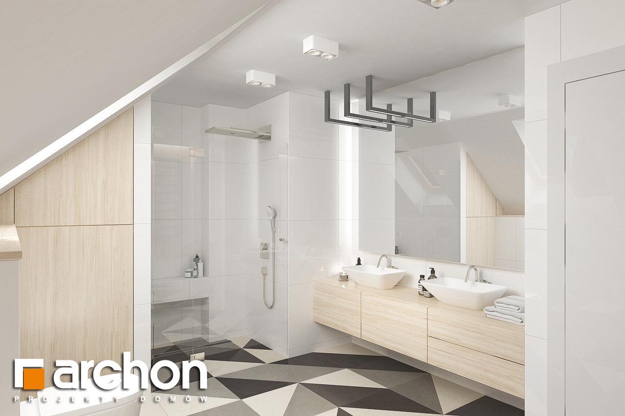 Проект будинку ARCHON+ Будинок в крокосміях (Г2) візуалізація ванни (візуалізація 3 від 1)
