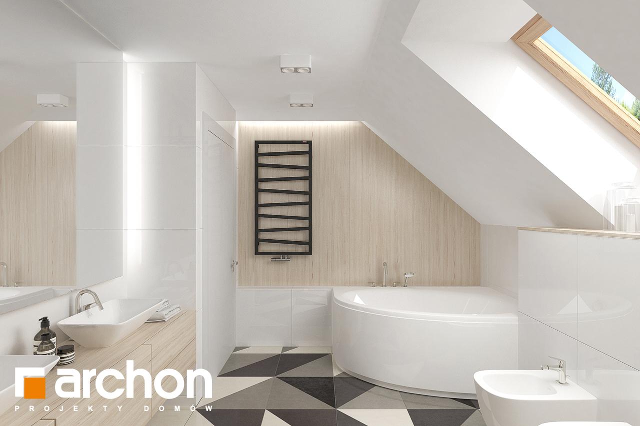 Проект будинку ARCHON+ Будинок в крокосміях (Г2) візуалізація ванни (візуалізація 3 від 3)