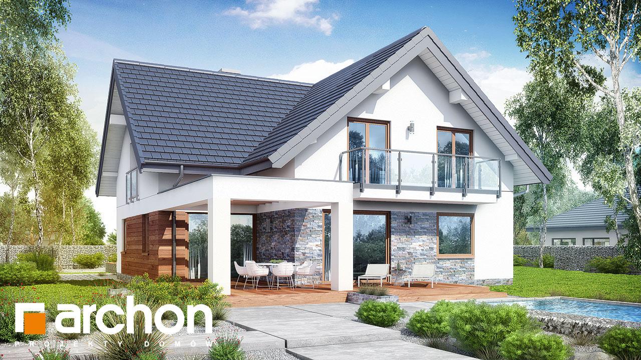 Проект будинку ARCHON+ Будинок в крокосміях (Г2) Вид 2