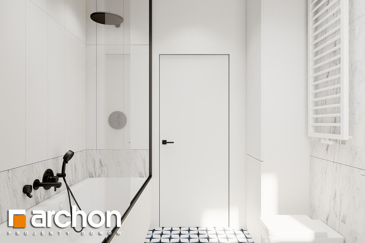 Проект будинку ARCHON+ Будинок в коручках 2 візуалізація ванни (візуалізація 3 від 4)