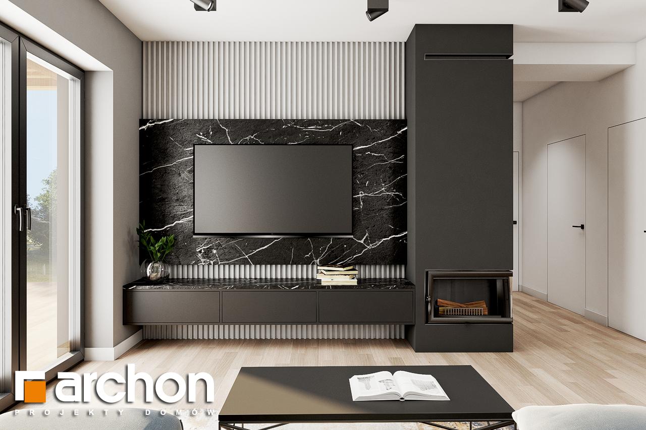 Проект будинку ARCHON+ Будинок в коручках 2 денна зона (візуалізація 1 від 1)