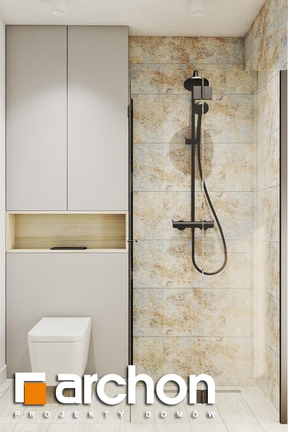 Проект будинку ARCHON+ Літній будиночок в голокупнику 2 візуалізація ванни (візуалізація 3 від 1)