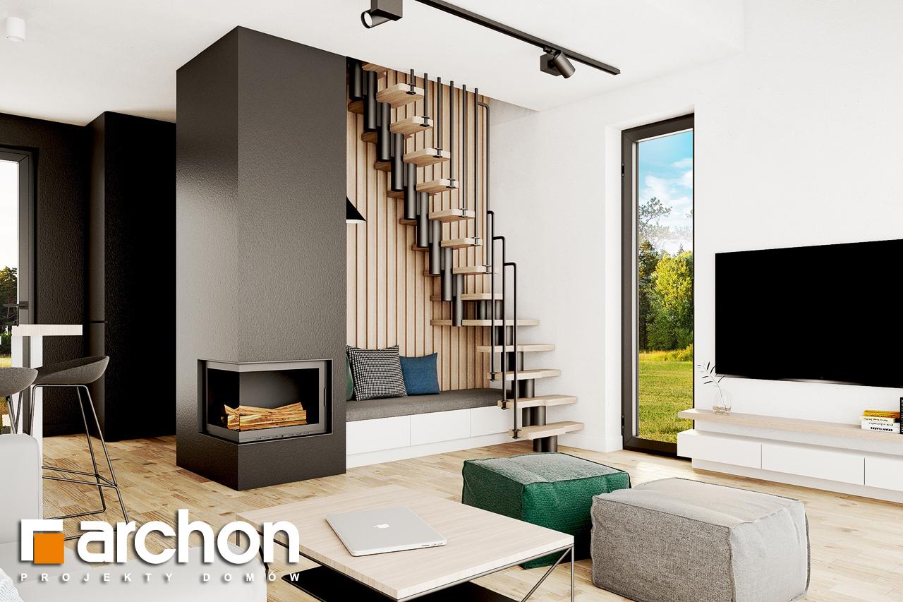 Проект будинку ARCHON+ Літній будиночок в голокупнику 2 денна зона (візуалізація 1 від 1)
