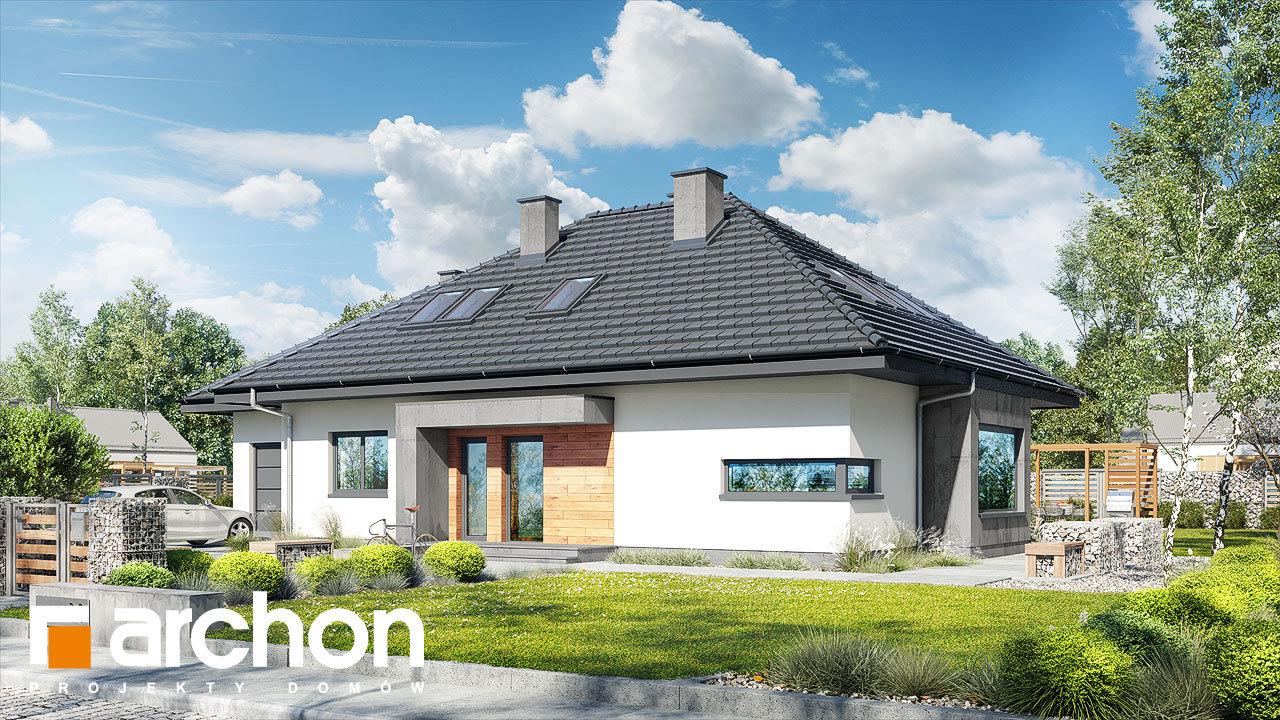Проект будинку ARCHON+ Будинок під червоною горобиною (ДМН) вер.2
