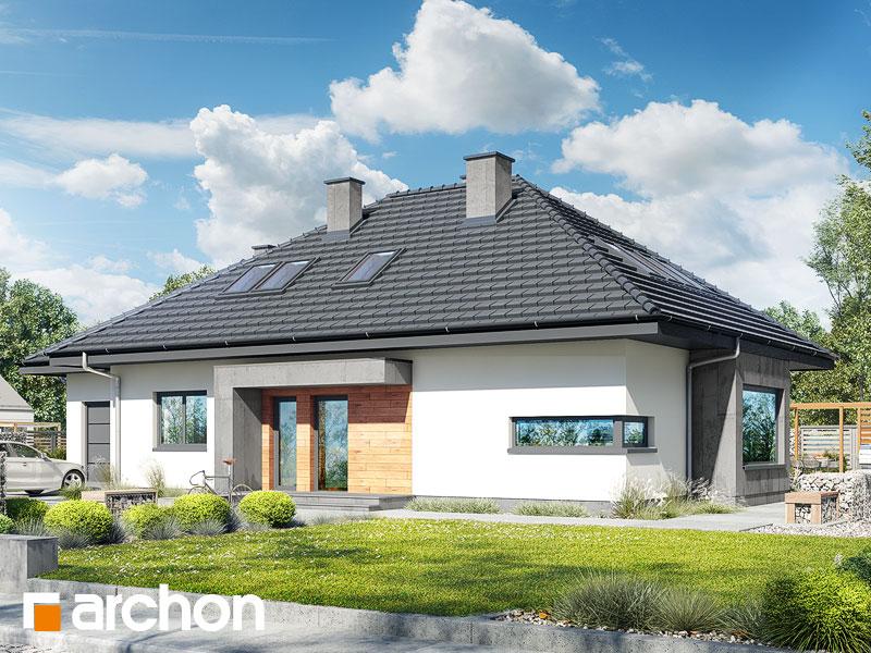 Проект будинку ARCHON+ Будинок під червоною горобиною (ДМН) вер.2 Вид 1