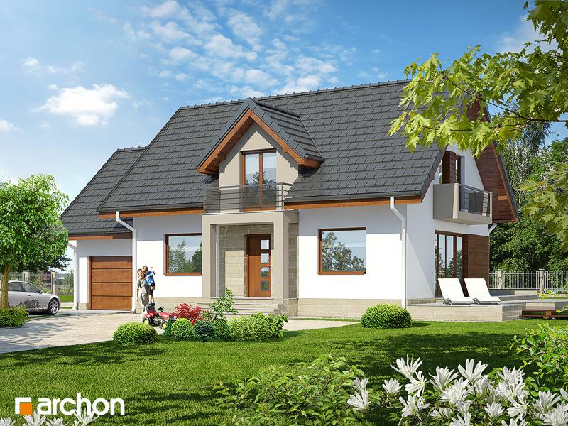 Проект будинку ARCHON+ Будинок в вербені 7 стилізація 3