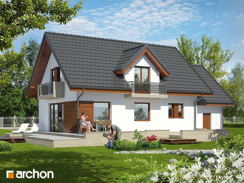 Проект будинку ARCHON+ Будинок в вербені 7 стилізація 4
