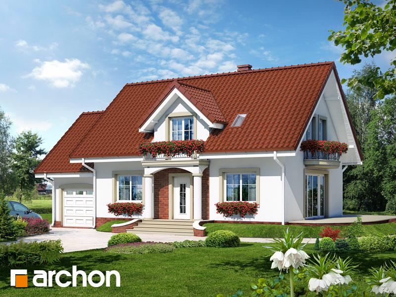Проект будинку ARCHON+ Будинок в вербені 7 Вид 1