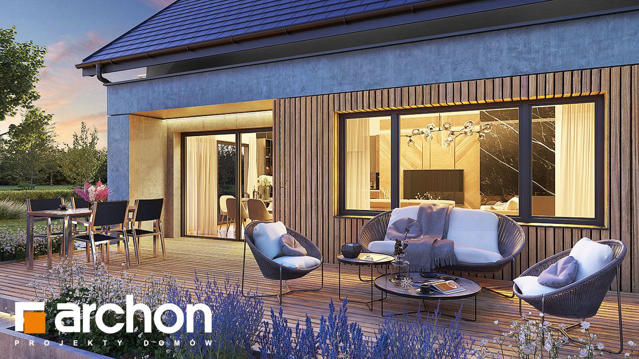 Проект будинку ARCHON+ Будинок в аурорах 10 (Г2) додаткова візуалізація