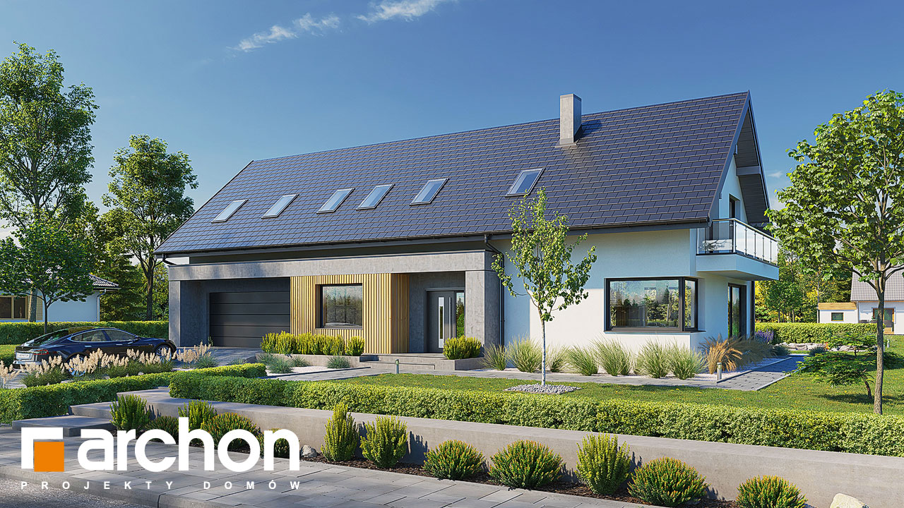 Проект будинку ARCHON+ Будинок в аурорах 10 (Г2) Вид 2