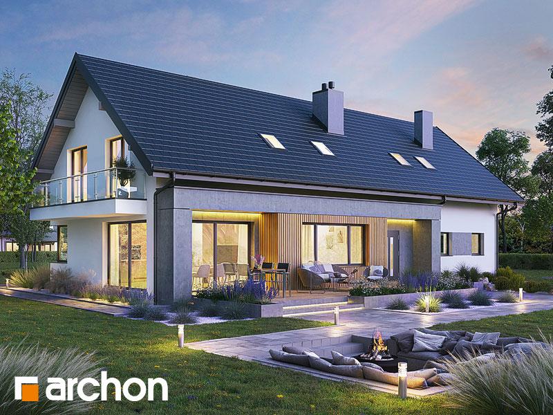 Проект будинку ARCHON+ Будинок в аурорах 10 (Г2) Вид 1
