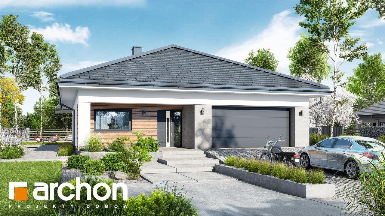 Проект будинку ARCHON+ Будинок в ренклодах 11 (Г2)