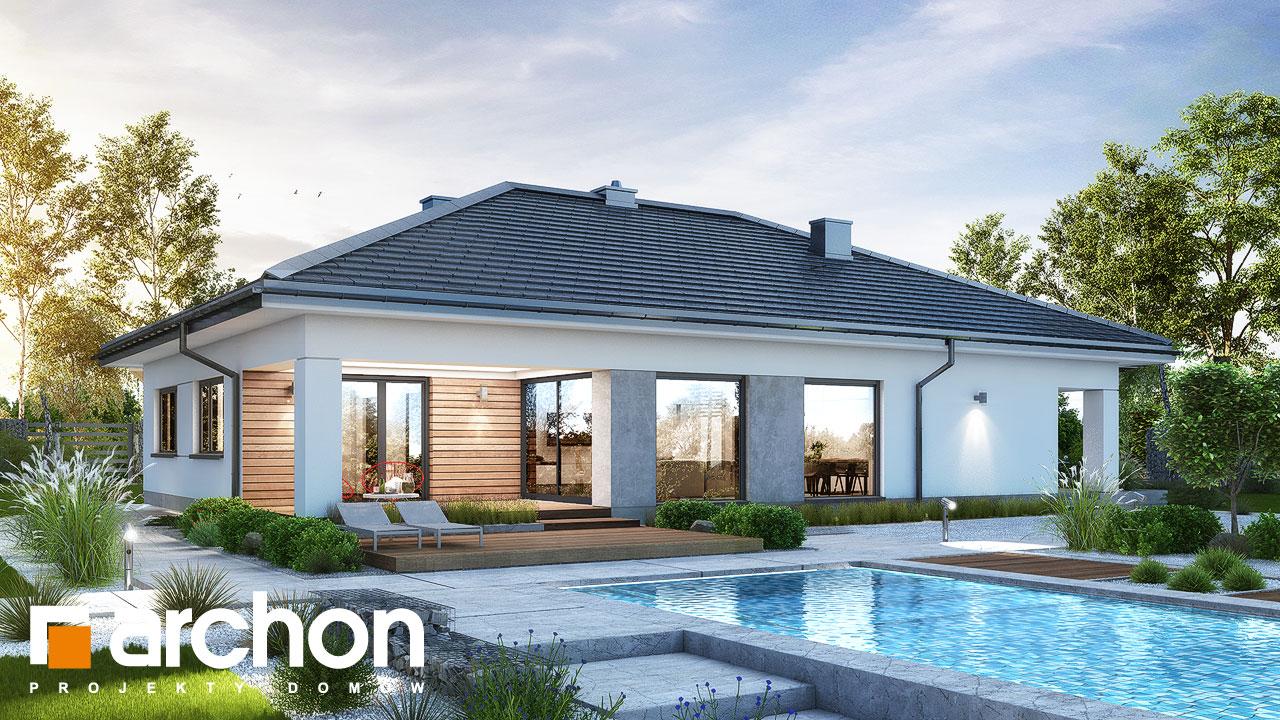 Проект будинку ARCHON+ Будинок в ренклодах 11 (Г2) Вид 2