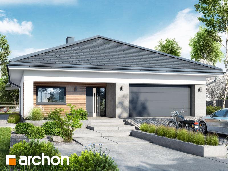 Проект будинку ARCHON+ Будинок в ренклодах 11 (Г2) Вид 1