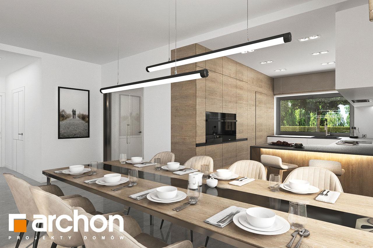 Проект будинку ARCHON+ Будинок в ренклодах 11 (Г2) денна зона (візуалізація 1 від 7)