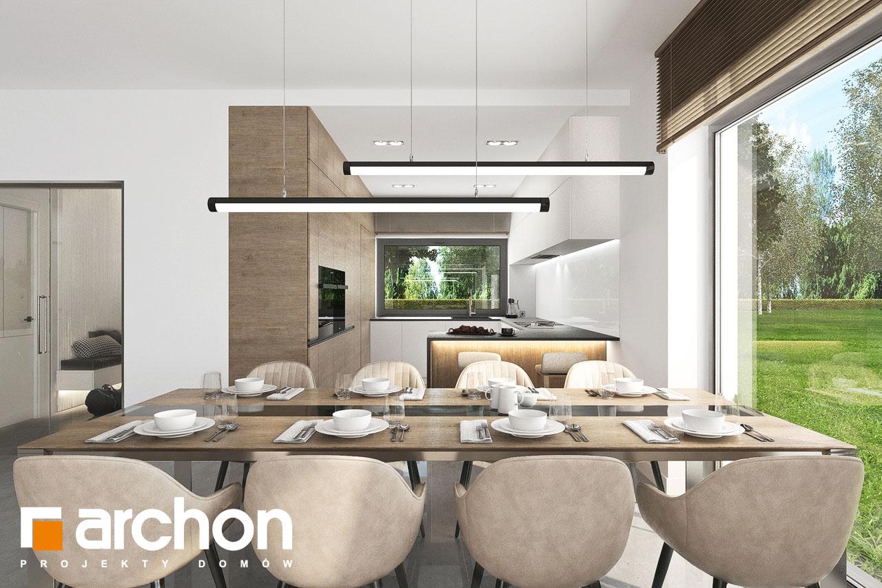Проект будинку ARCHON+ Будинок в ренклодах 11 (Г2) денна зона (візуалізація 1 від 8)