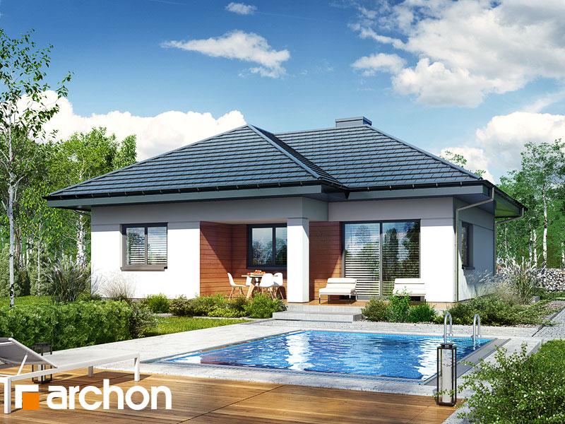 Проект будинку ARCHON+ Будинок в коштелях Вид 1