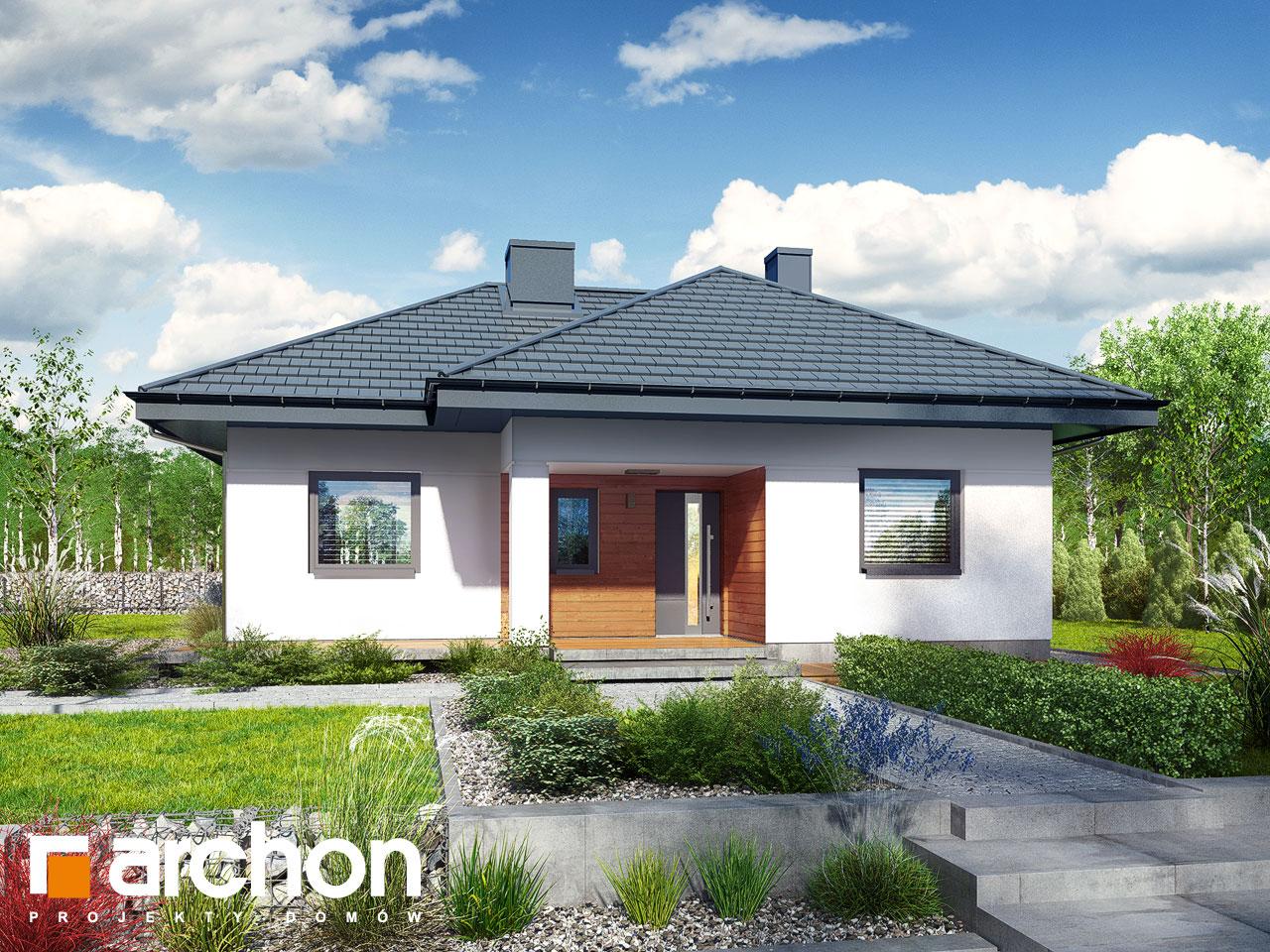 Проект дома ARCHON+ Дом в коштелях Вид 2