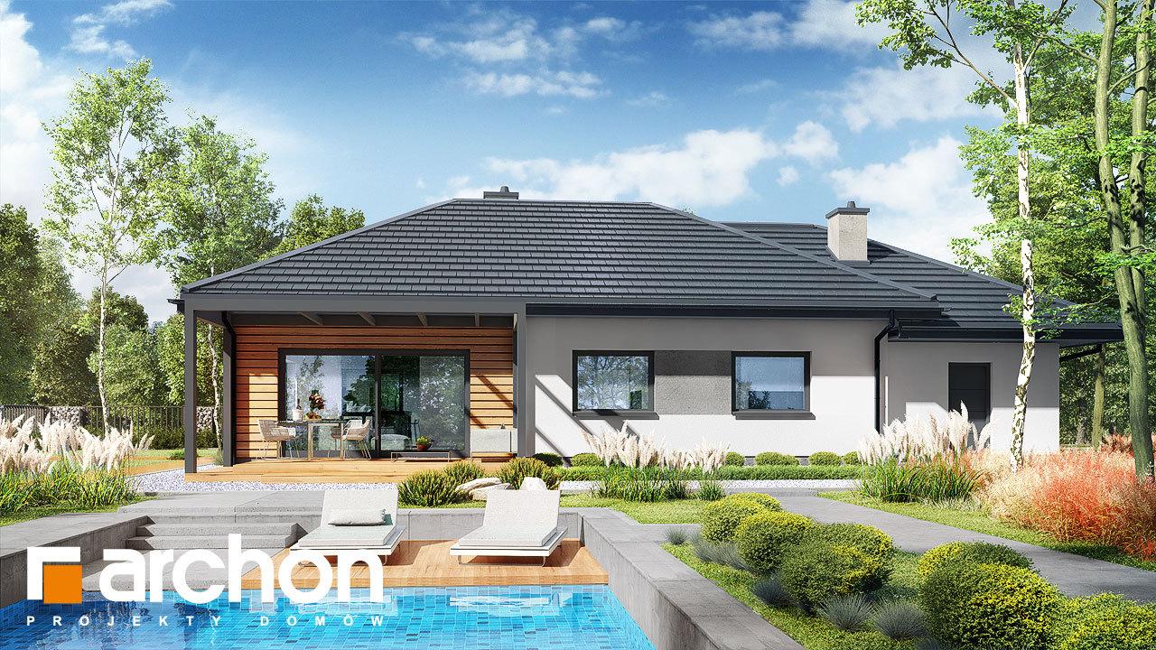 Проект будинку ARCHON+ Будинок у вівсянниці 6 (Г)