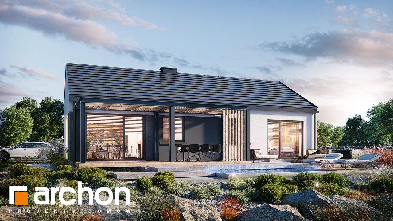 Проект будинку ARCHON+ Будинок в ірисі (НА)