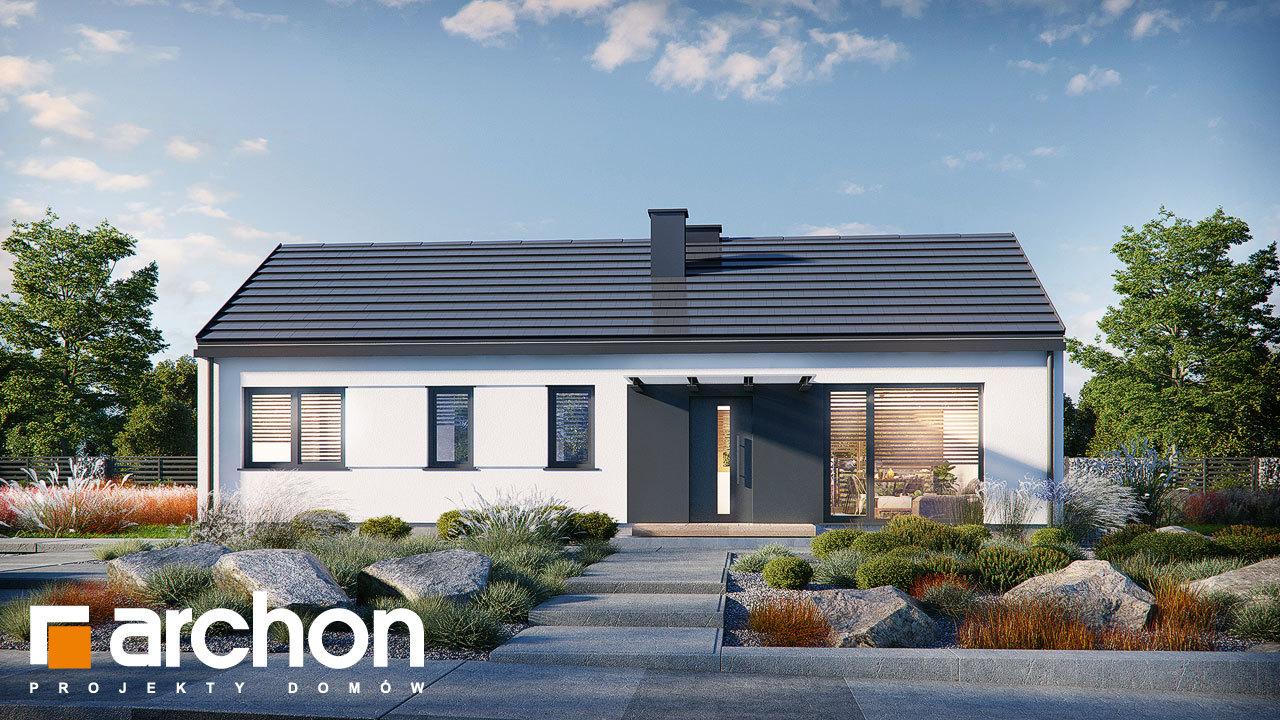 Проект дома ARCHON+ Дом в ирисе (НА)
