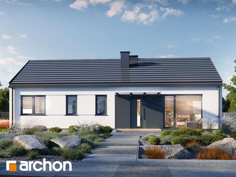Проект будинку ARCHON+ Будинок в ірисі (НА) Вид 2
