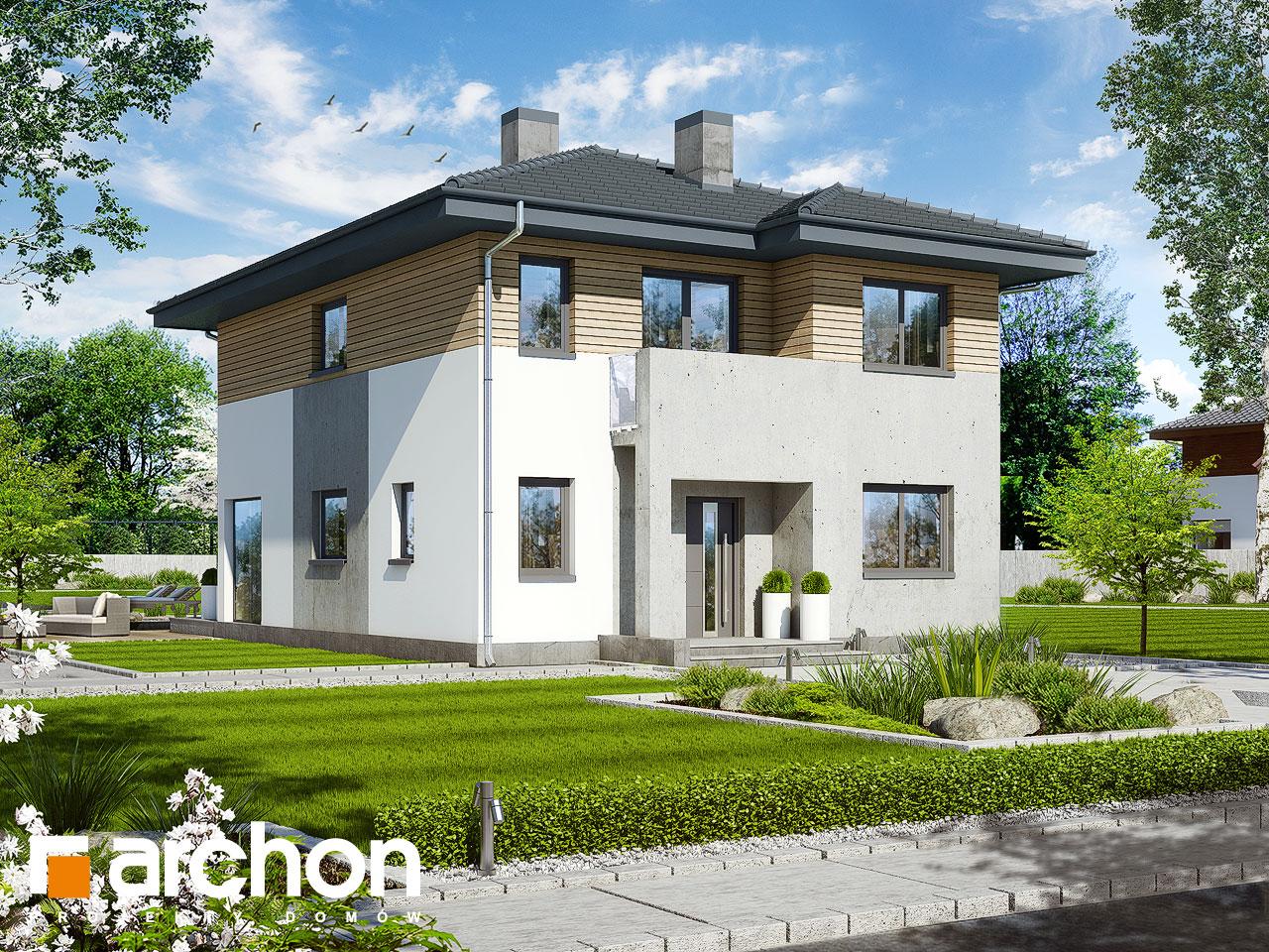 Проект будинку ARCHON+ Вілла Юлія 2 вер.2 стилізація 4