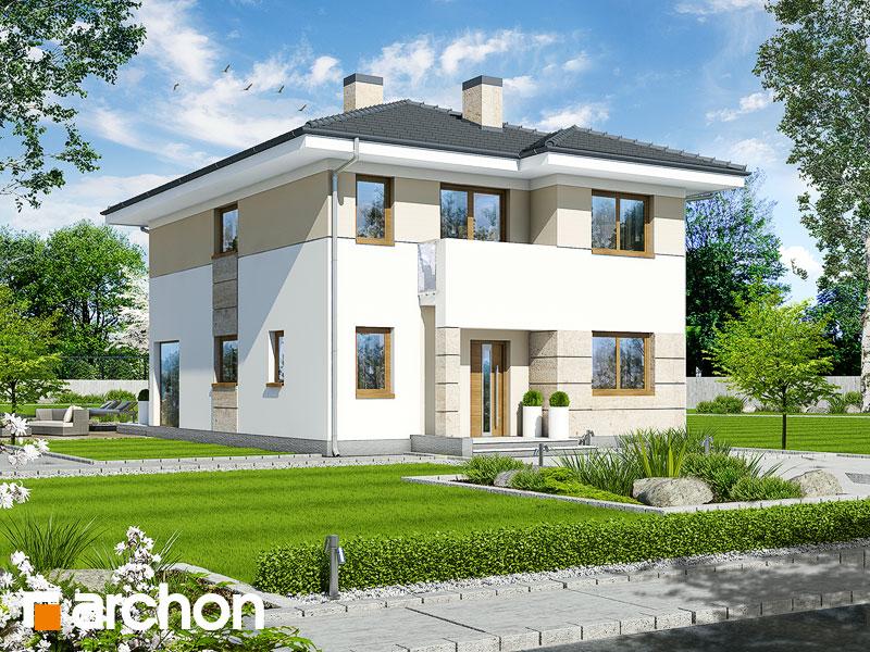 Проект будинку ARCHON+ Вілла Юлія 2 вер.2 Вид 1
