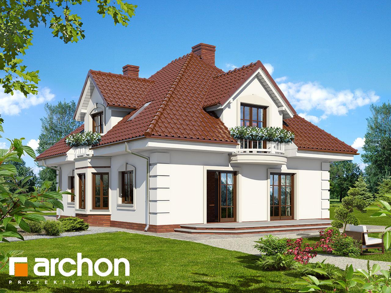Проект будинку ARCHON+ Будинок в орхідеях вер.2 Вид 2