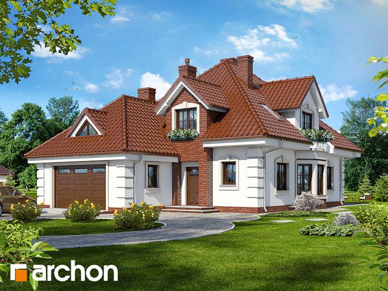 Проект будинку ARCHON+ Будинок в орхідеях вер.2 Вид 1