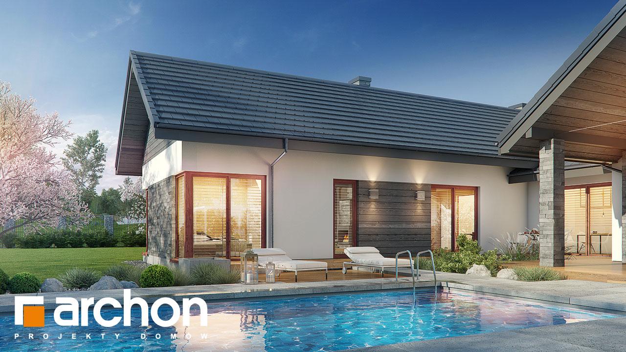 Проект будинку ARCHON+ Будинок у клівіях 6 (Г2) додаткова візуалізація