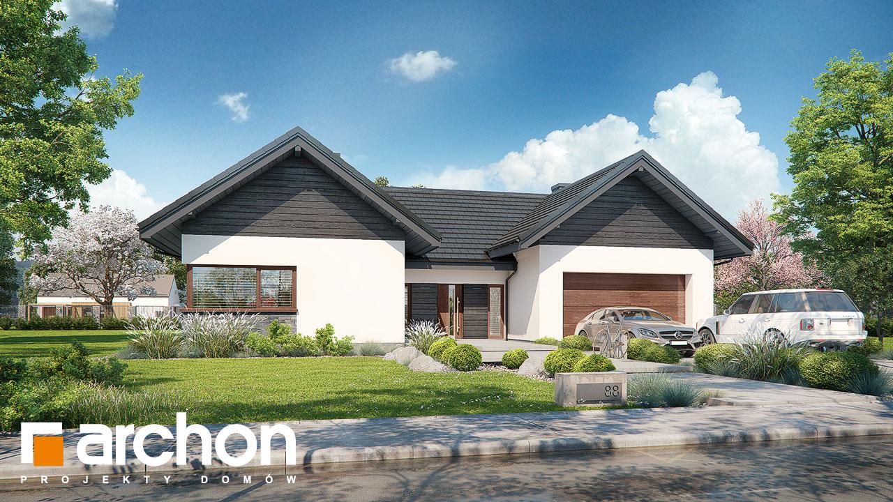 Проект будинку ARCHON+ Будинок у клівіях 6 (Г2) Вид 2