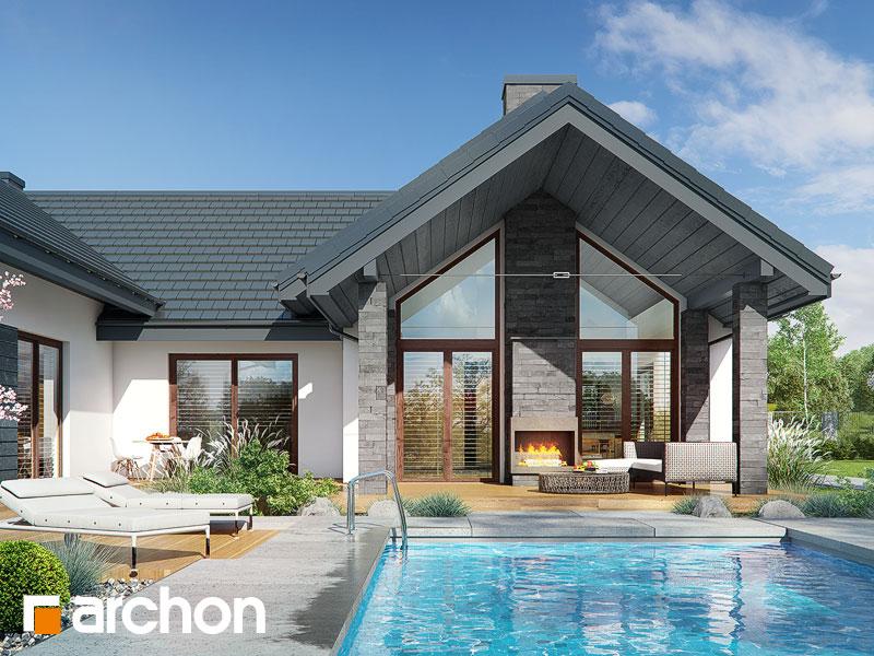Проект будинку ARCHON+ Будинок у клівіях 6 (Г2) Вид 1