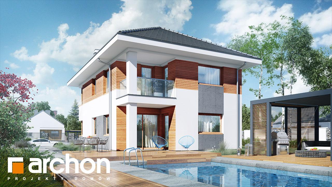 Проект будинку ARCHON+ Вілла Ельвіра Вид 2