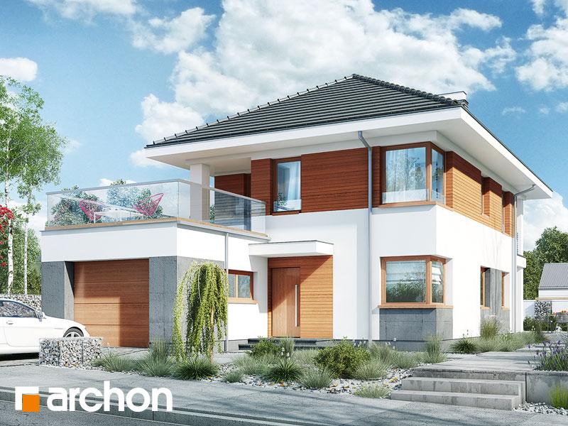 Проект будинку ARCHON+ Вілла Ельвіра Вид 1