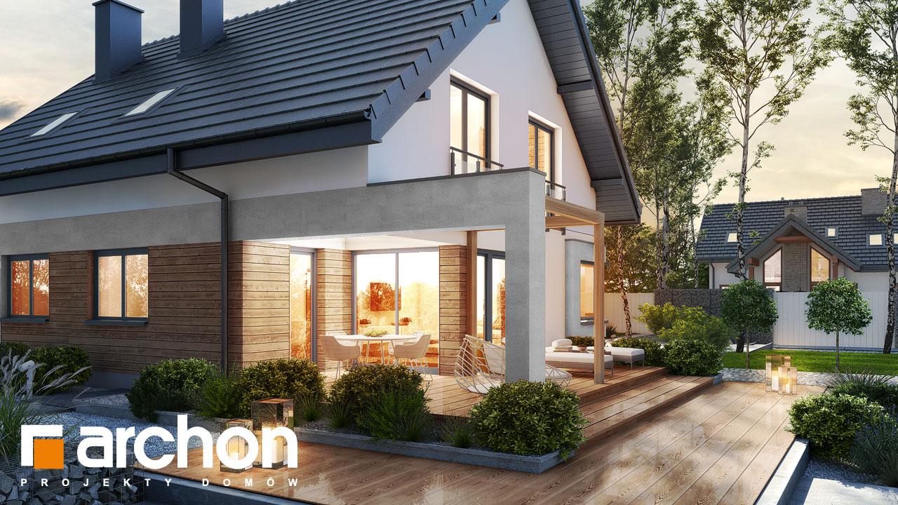 Проект дома ARCHON+ Дом в изопируме 4 додаткова візуалізація