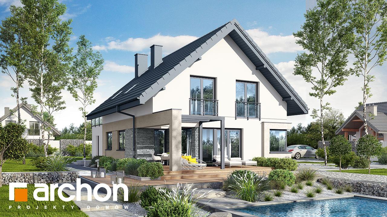 Проект будинку ARCHON+ Будинок в ізопірумі 4 стилізація 4