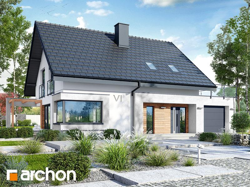 Проект будинку ARCHON+ Будинок в ізопірумі 4 Вид 1