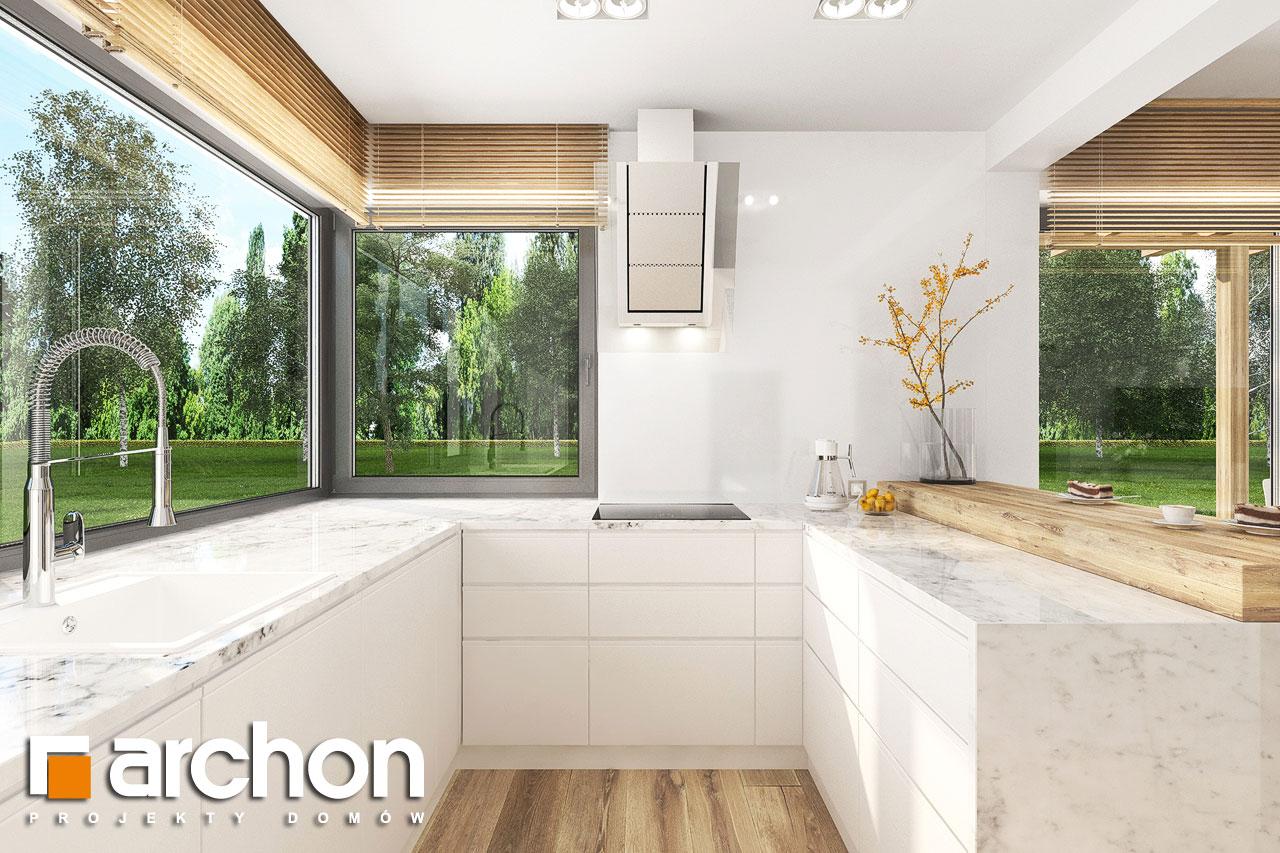 Проект будинку ARCHON+ Будинок в фаворитках 2 візуалізація кухні 1 від 1