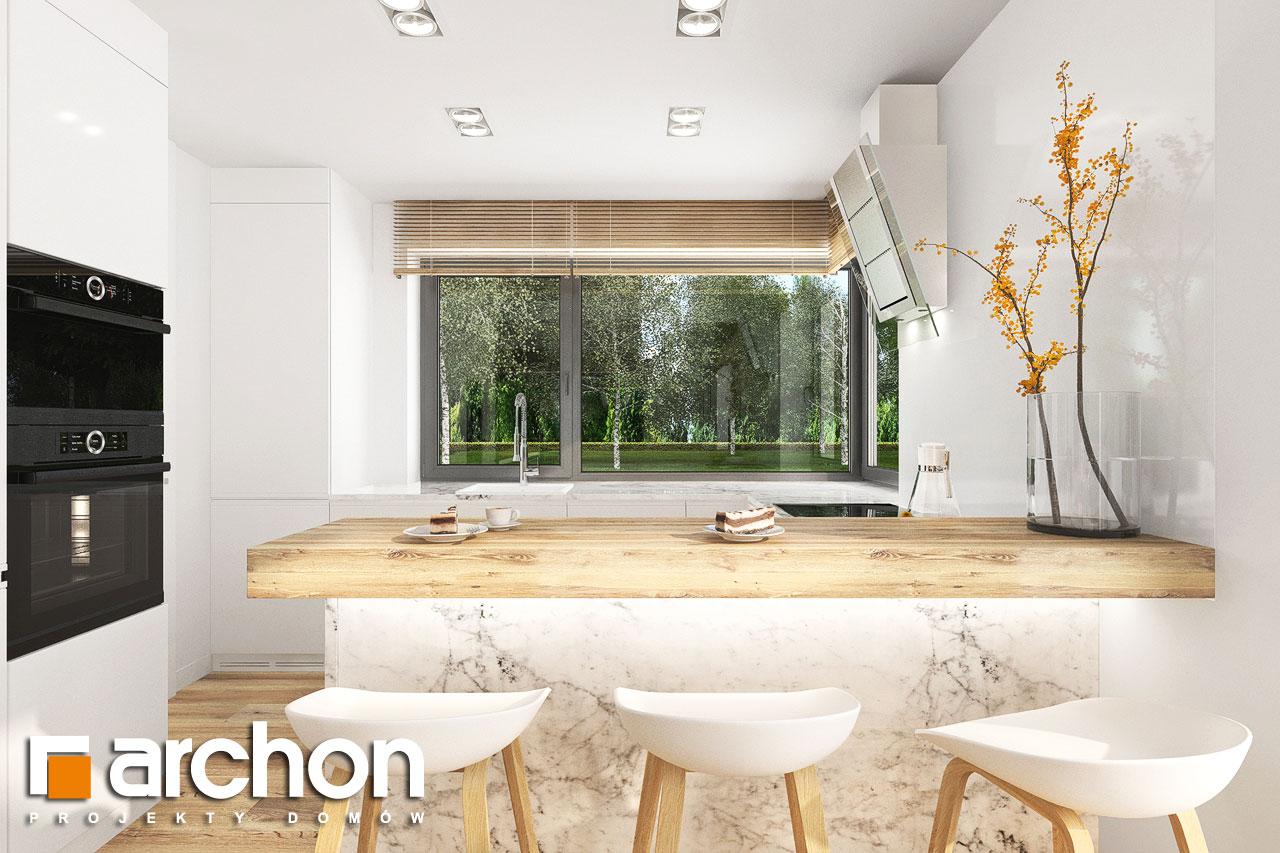 Проект будинку ARCHON+ Будинок в фаворитках 2 візуалізація кухні 1 від 2