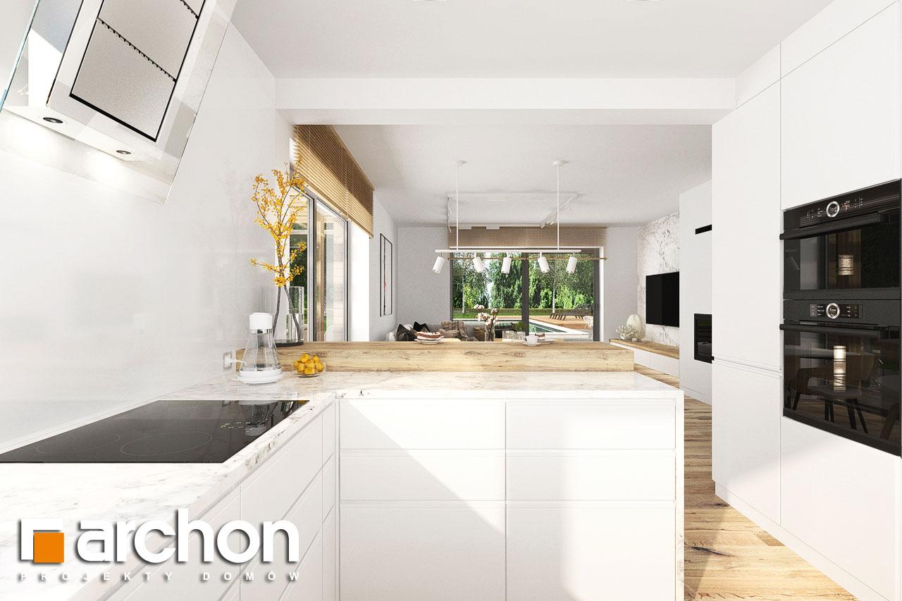 Проект будинку ARCHON+ Будинок в фаворитках 2 візуалізація кухні 1 від 3
