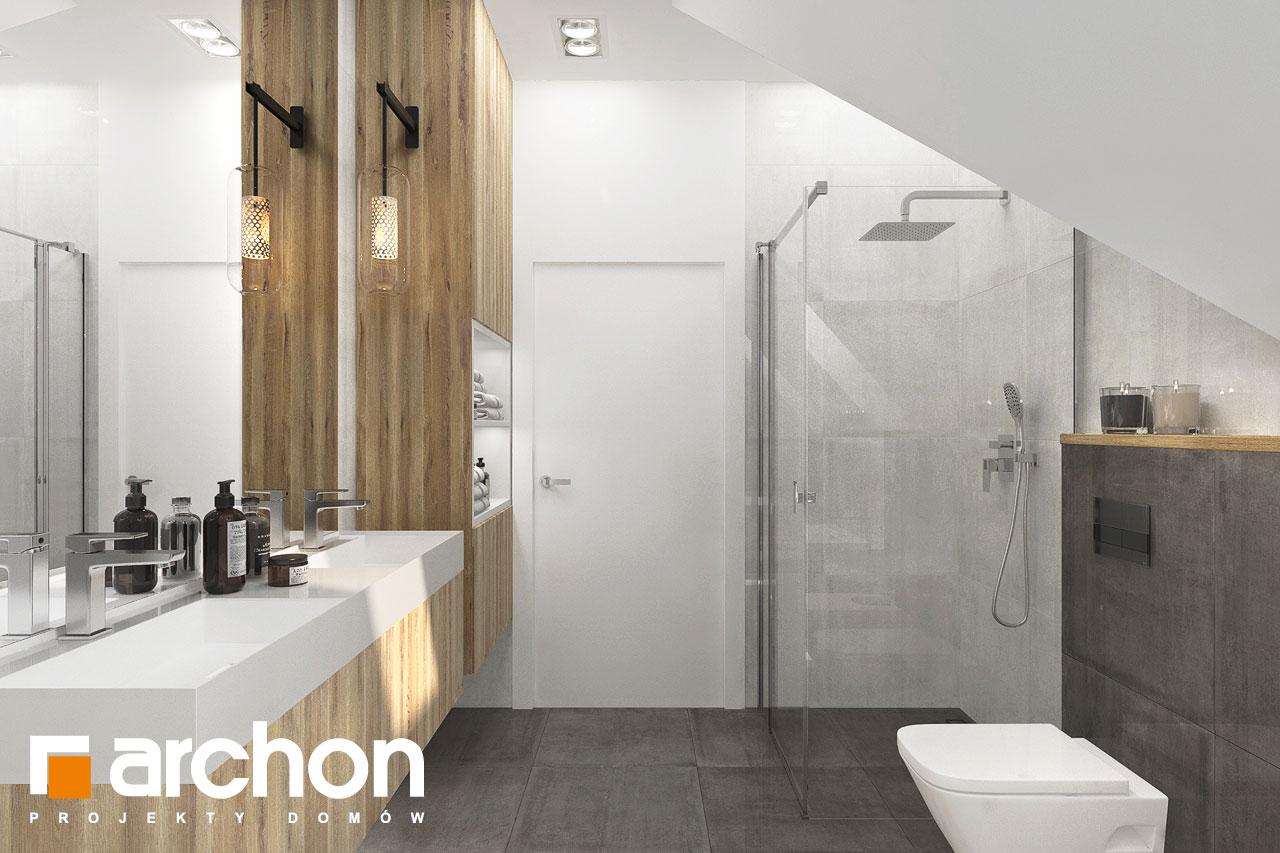 Проект будинку ARCHON+ Будинок в фаворитках 2 візуалізація ванни (візуалізація 3 від 3)