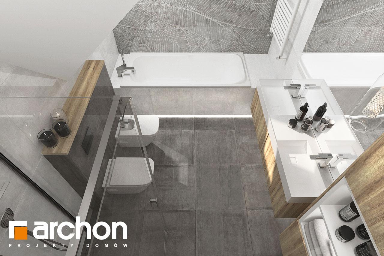 Проект будинку ARCHON+ Будинок в фаворитках 2 візуалізація ванни (візуалізація 3 від 4)